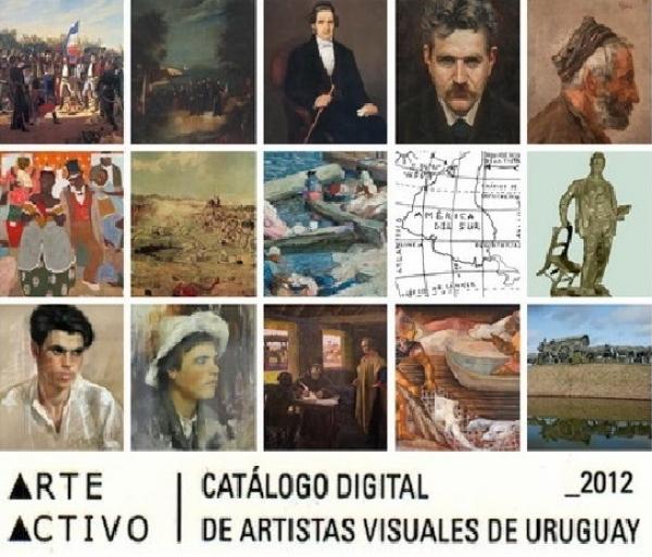 Arte Activo: catálogo de artistas uruguayos